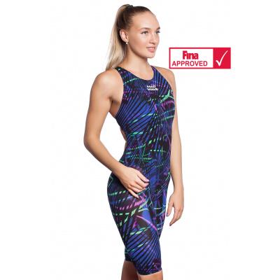 Plavky závodní dámské BODYSHELL open back Multi