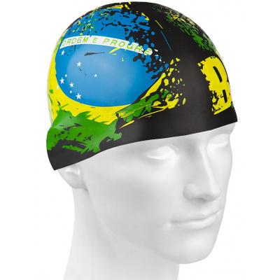 Plavecká čepička BRAZIL
