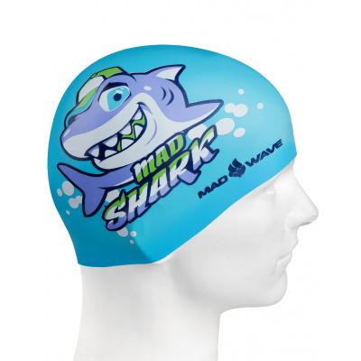 Plavecká čepička MAD SHARK